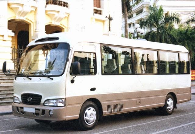 Tìm hiểu giá thuê xe du lịch 29 chỗ ngồi