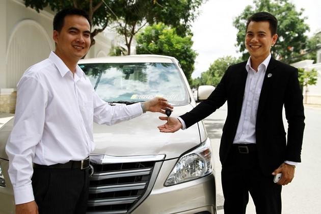 Dịch vụ cho thuê xe chuyên nghiệp nhất