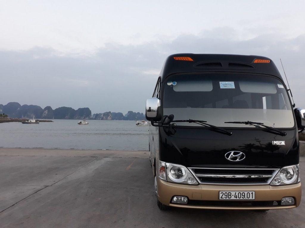 Thuê xe 16 chỗ tại Hà Nội 2