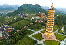 Chùa Bánh Đính - Các chùa đẹp nhất Việt Nam được đánh giá cao