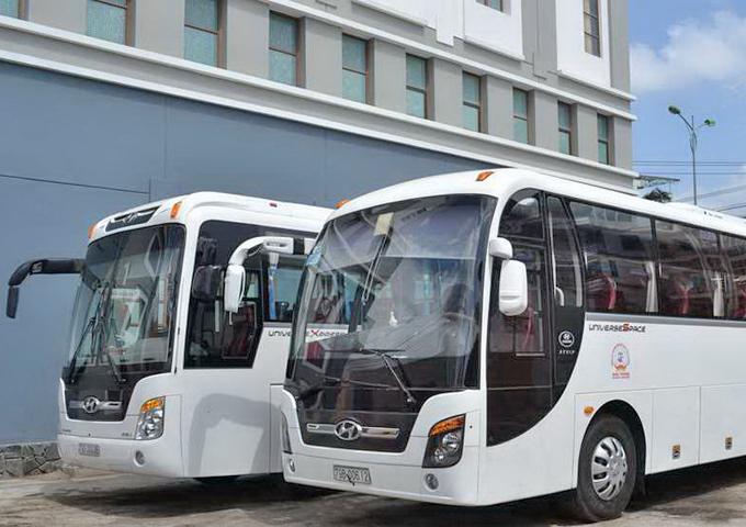 Dịch vụ thuê xe 45 chỗ đem đến nhiều tiện ích cho khách hàng trong việc đi lại